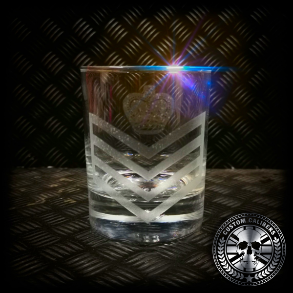 another great shot of our laser engraved glass tumbler