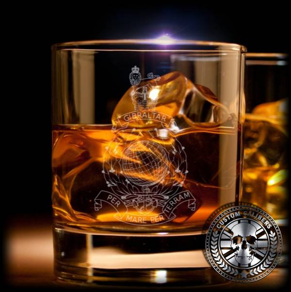 Another custom glass of whiskey